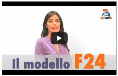 Video pagamento con F24 - Canale Youtube (apre una nuova finestra)